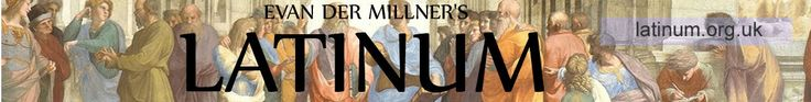 Latinum: Online Latin Immersion Audio Course offers a complete audio course for classical Latin that follows a textbook by George Adler.