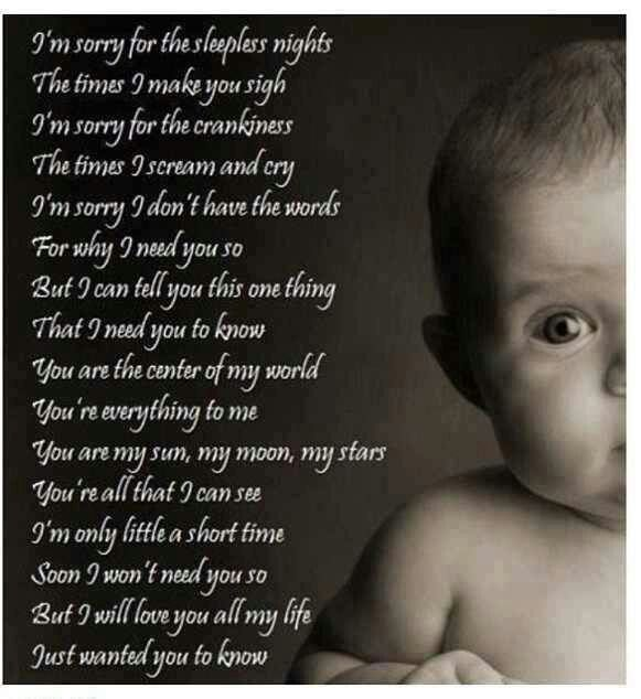 Love My Baby Girl Such A Sweet Poem Pregnancy Baby Baby Love
