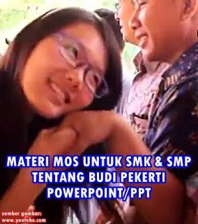 DOWNLOAD MATERI MOS SMK SMP BUDI PEKERTI POWERPOINT PPT 2016