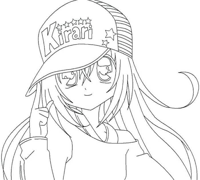 Kawaii Anime Coloring Pages 1 In 2020 Cute Coloring Pages Cartoon Coloring Pages Coloring Pages
