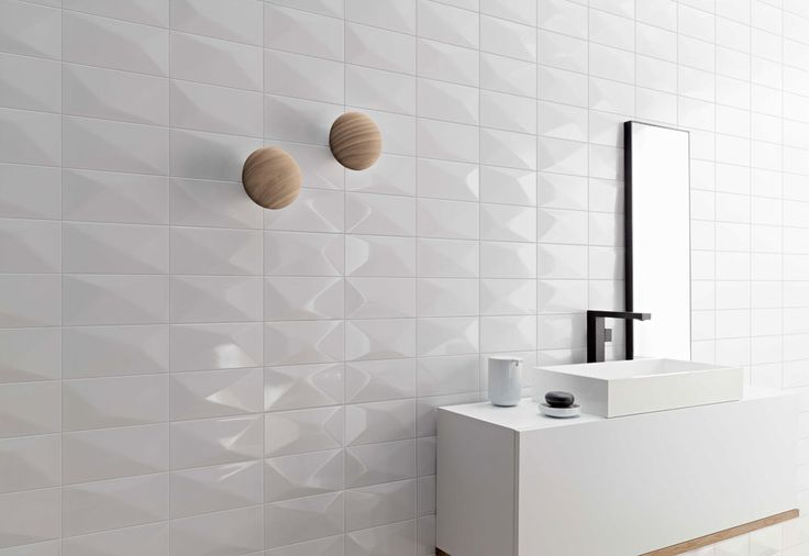 Wonder tiles by Stoneworld create a multi-dimensional feature wall- shop the look at Choices Flooring Mackay