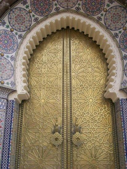 Dar ElMakhzen (Royal Palace) Doors, Fez, Morocco Travel