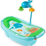 Baby will be a lover of the ocean ♡ Summer Infant Blue Ocean Buddies Bath Tub