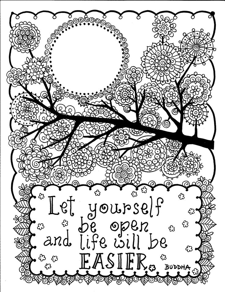 85 best quote coloring images on Pinterest Coloring books