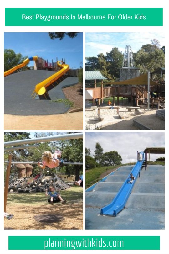 10 of the best and most exciting playgrounds in Melbourne for older kids