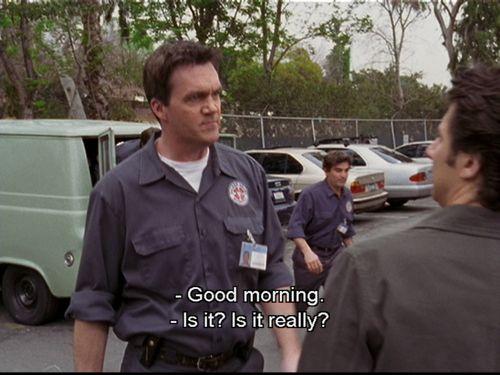 Bon matin !