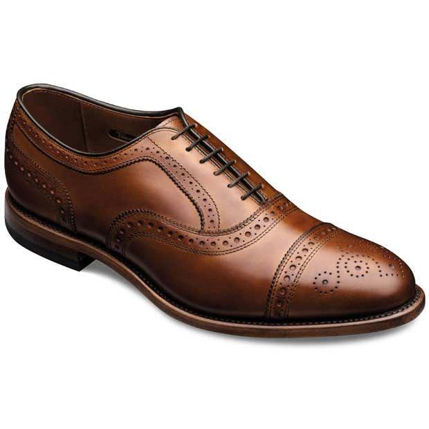 Strand - Cap-toe Lace-up Mens Dress Shoes by Allen Edmonds: Loafers, Allenedmond Strands, Style, Dresses Shoes, Allen Edmonds, Capto Oxfords, Men Fashion, Walnut Calf, Men Shoes