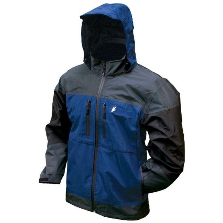 Frogg Toggs Toadz Anura Jacket Dust Blue-Slate-Black Large