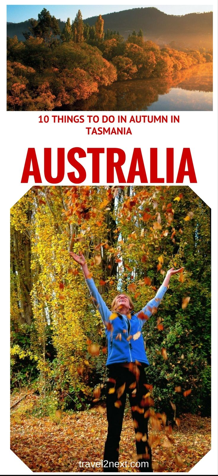 10 things to do in autumn in Tasmania. Of all Australia's states, it would probably be safe to say that Tasmania is a destination with the most distinct seasons.