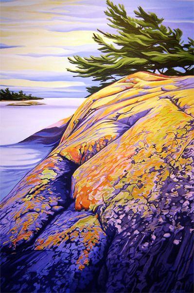 Essex Island, Georgian Bay - oil by ©Margarethe Vanderpas www.margarethe-vanderpas.com/easterngeorgianbay.html