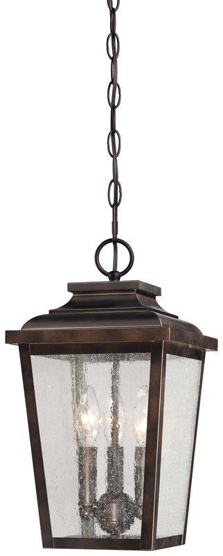 View The The Great Outdoors 72174 189 3 Light Lantern Pendant From The Irvington Manor