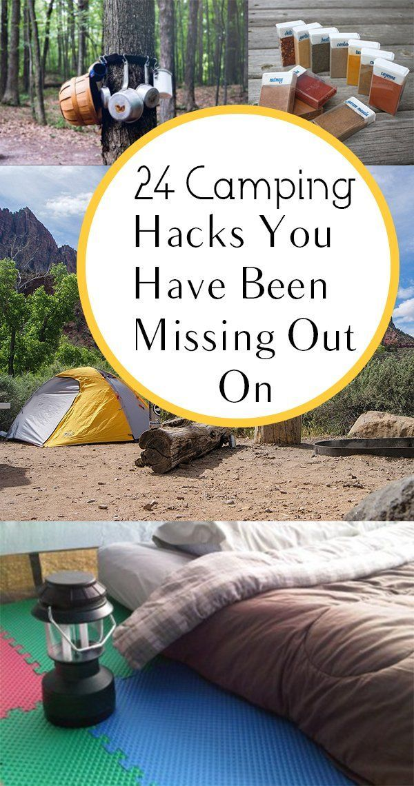 24 Tenting Hacks That May Change Every thing