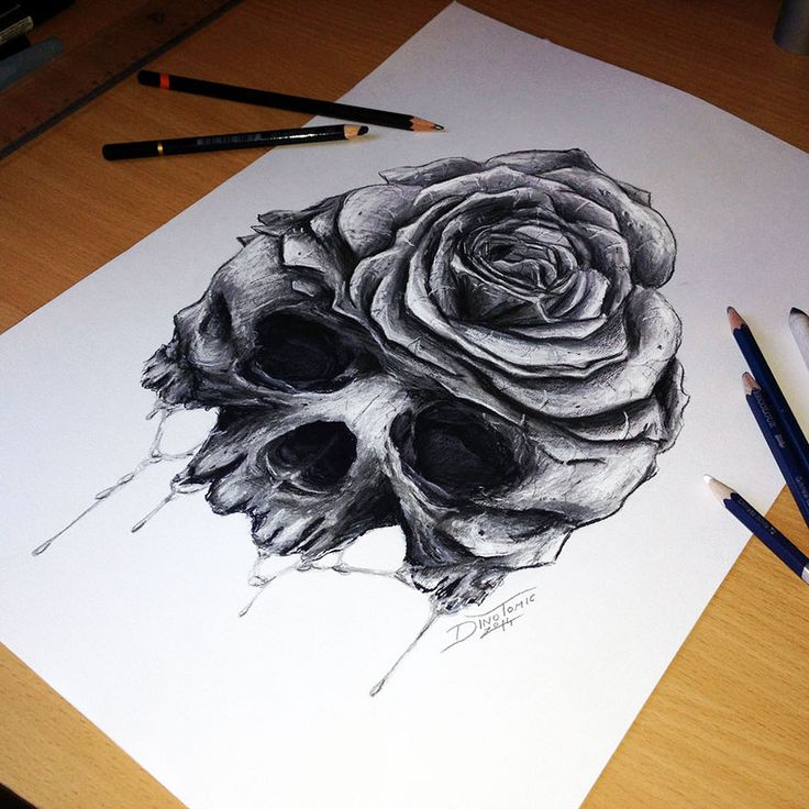 Tattoo artist dino tomic creates incredibly detailed for Cool detailed drawings