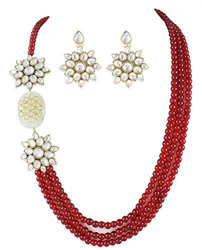 Amazing Indian Bollywood Gold Plated Traditional Red Pear... https://www.amazon.com/dp/B06Y3CBR2C/ref=cm_sw_r_pi_dp_x_sjCczb1PYSEZ3