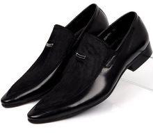 Большой размер EUR45 модные Черные квартиры натуральная кожа мужские замшевые туфли острым носом бизнес платье обувь мужская свадебные туфли(China (Mainland))