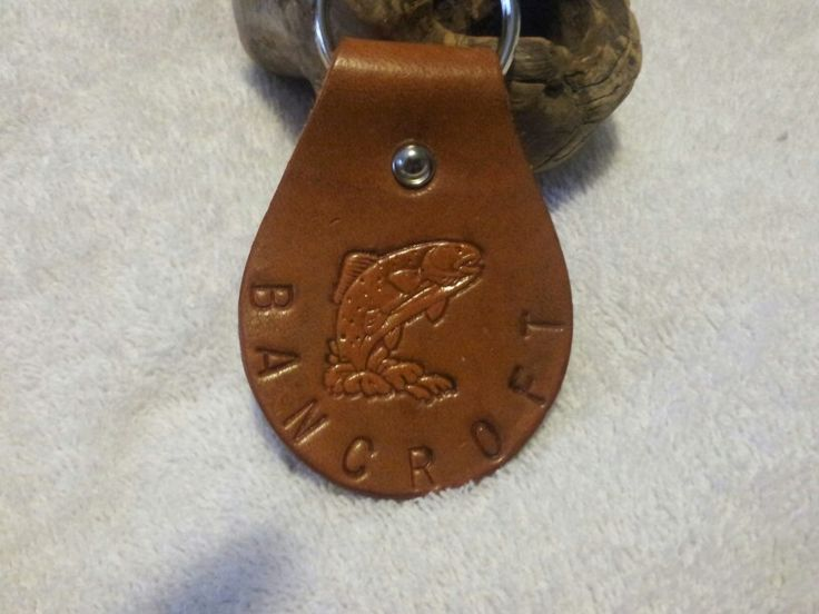 Key chain for the one who enjoys fishing. $10.00