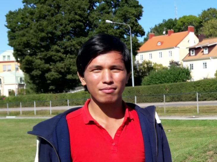 Mustafa Ansari's journey ended one April morning in his bedroom in a quiet Swedish village.
