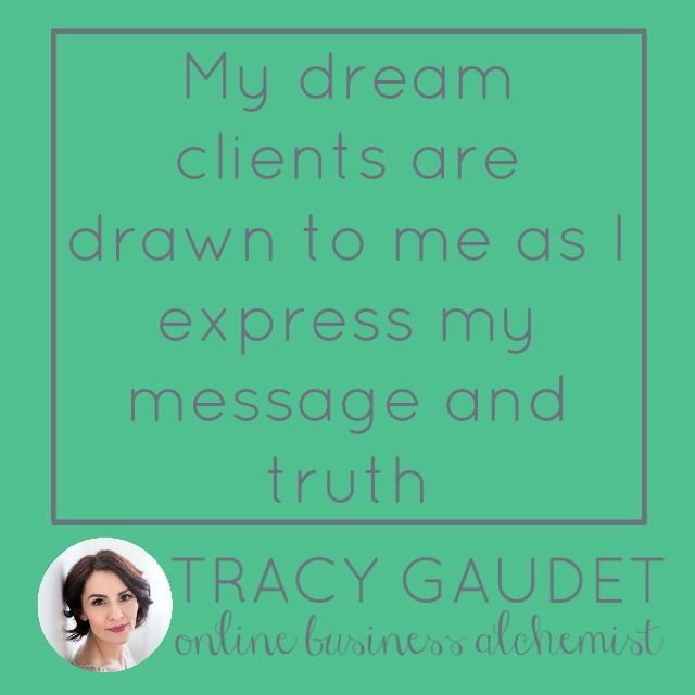 Join the magic! Online Business Alchemy to develop your intuition, release your fears and doubts and step up in your business.  https://www.facebook.com/groups/TRACYGAUDETINSPIRATIONCLUB/