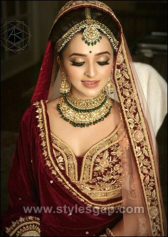 Different Cultures Indian Traditional Bridal Dresses Trends 2019