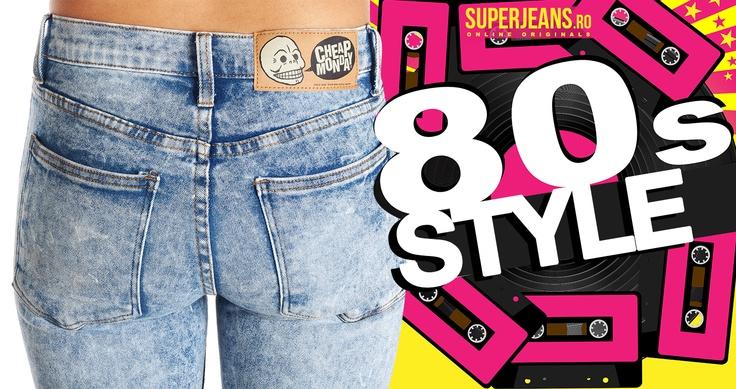 Stilul anilor '80 - în tendințele anului 2013 http://blog.superjeans.ro/2013/06/stilul-anilor-80-in-tendintele-anului-2013/
