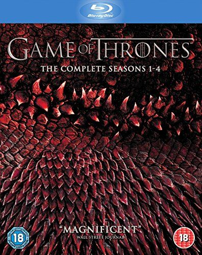 Game of Thrones - Season 1-4 Blu-ray 2015 Region Free: Amazon.co.uk: Sean Bean, Lena Headey, Jack Gleeson, Michelle Fairley, Emilia Clarke, Iain Glen, Sophie Turner, Maisie Williams, Alfie Allen, Peter Dinklage: DVD & Blu-ray