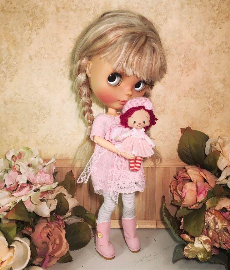 Blythe doll & raggedy Ann 🌺