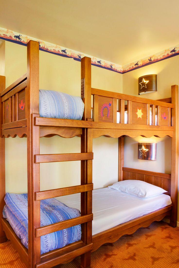 Disney Hotels, Hotel Cheyenne - Bunk Beds, Disneyland Paris