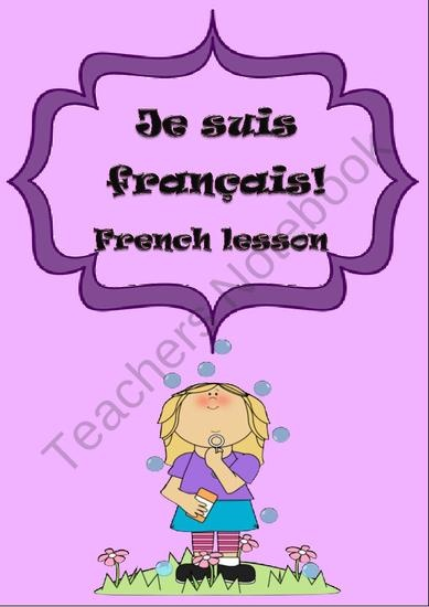 French Elementary Unit 2 product from Languages-Corner on TeachersNotebook.com