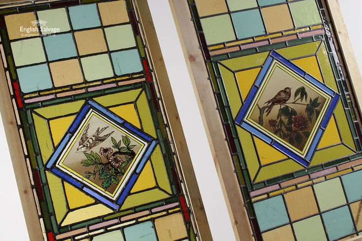 Stained Glass Leaded Panels. #englishsalvage #interiors #interiorideas #homerenovation #finditstyleit #homestyle #interiorarchitecture #decor #designer #vintage #antique #reclamation #available #props #filmprops #productiondesigner #setdesigner #forsale #unique #rare #architecturalresource #accessories  info@englishsalvage.co.uk