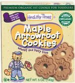 Healthy Times, Organic Maple Arrowroot Cookies, Wheat Free, 12/5 Oz