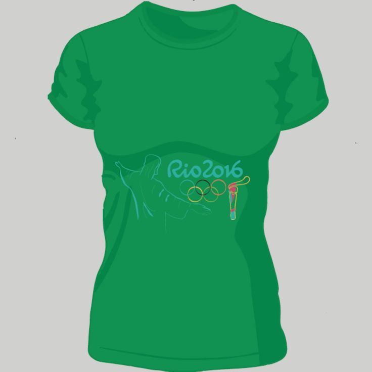 Olympic Games Rio 2016; t-shirt unisex, woman, child, 9 colors, several sizes; shipping worldwide; 17€ + shipping rates