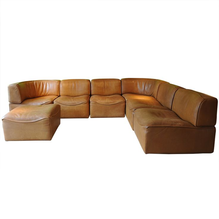 1stdibs   De Sede Sofa In Natural Leather With Footstool. Explore Items  From 1,700 Global