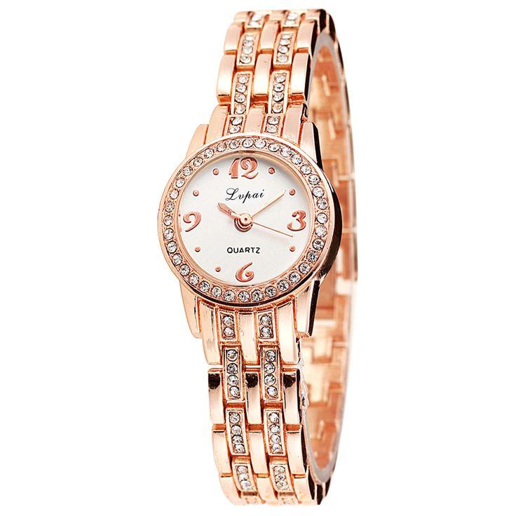 Top sale Women's Bracelet Watches round case brand luxury watch women clock relogios femininos joyeria zegarki damskie gift#A #Affiliate