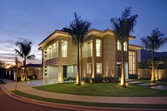 172 best images about fachadas de casa on pinterest for Casas americanas fachadas