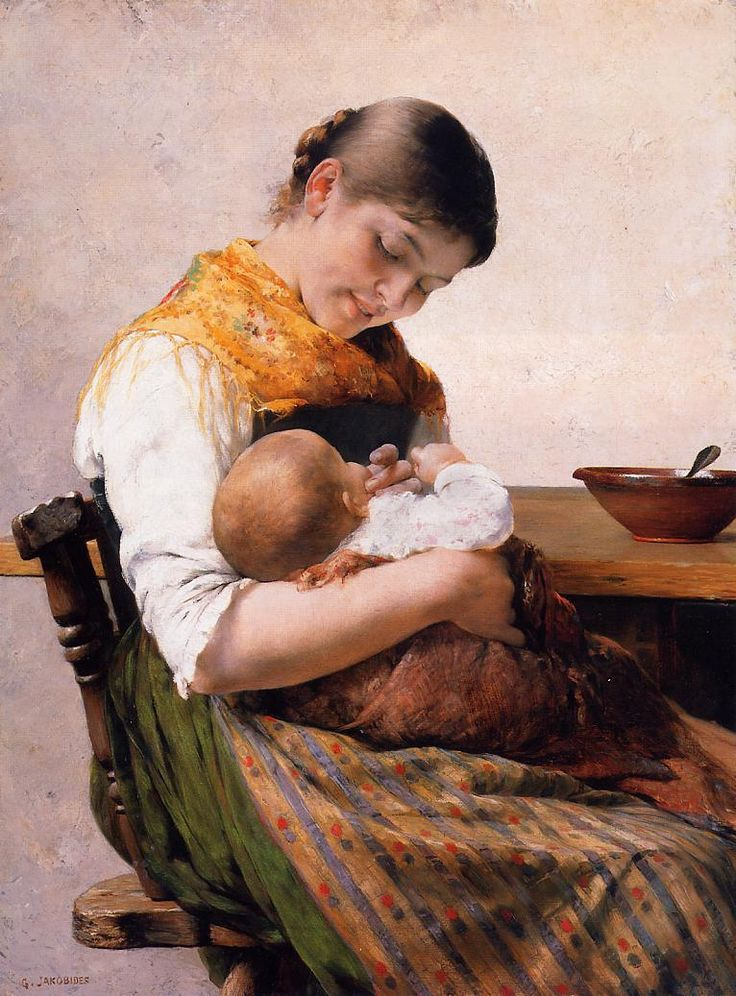 Mother and Child  George Jakobides