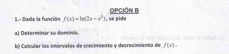 Ejercicio 1B 2015-2016 Julio. Propuesto en examen pau de Canarias. Matemática.  Continuidad, derivabilidad y representación de funciones. Límites.