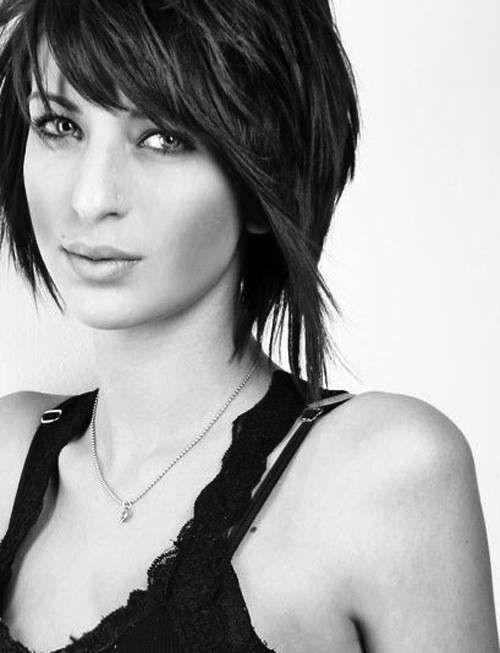 Tagli capelli corti femminili 2014 per viso tondo (Foto 40/40) | Donna