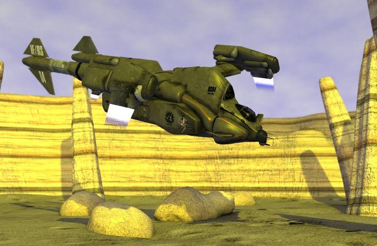 Starship Troopers Retrieval Ship by bcampo on DeviantArt