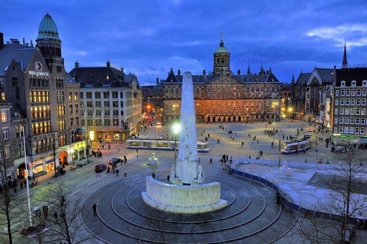 Plaza Dam, Amsterdam (Holanda)