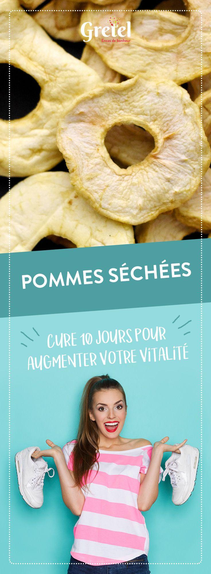 Les pommes séchées light : vos meilleures amies en cas de fringale !