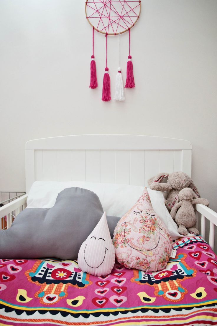 Tassel Dream Catcher, Cloud Cushion & Smiling Happy Raindrops (sml & lge) // www.milkkmoney.com.au