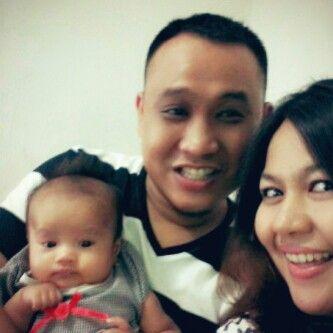 We are three.....