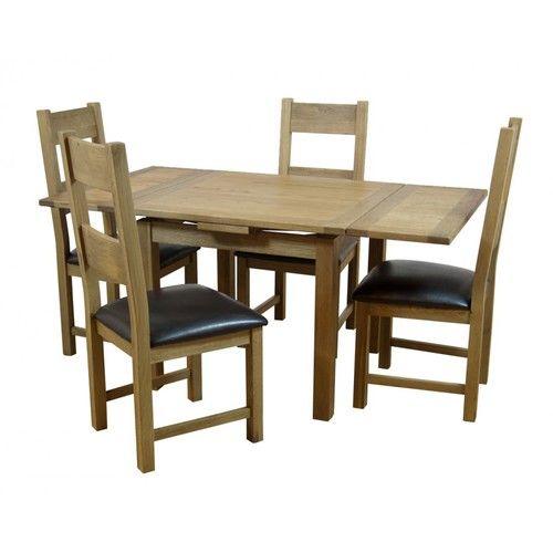 Hampshire Dining Table Extending Square Oak