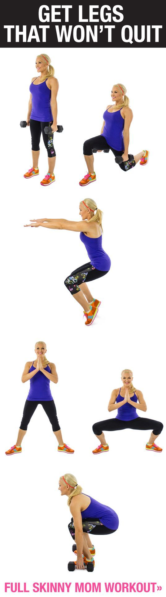 Sculpt those thighs with these fabulous leg workouts!