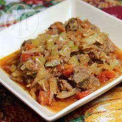 Ragoût de bœuf et chou @ qc.allrecipes.ca