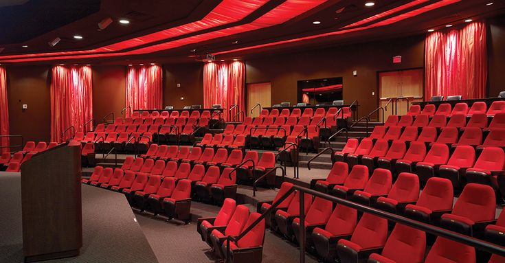 Small auditorium design concept.