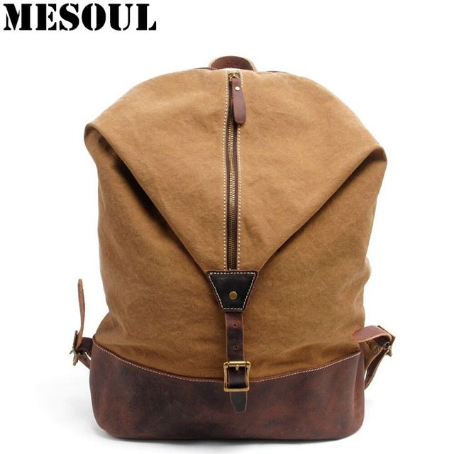 Promotion price Vintage Military Canvas Backpack Youth School Bags England Style Men Travel Backpack Bag Bolsas Mochila Unisex Large Rucksack  just only $69.76 with free shipping worldwide  #backpacksformen Plese click on picture to see our special price for you