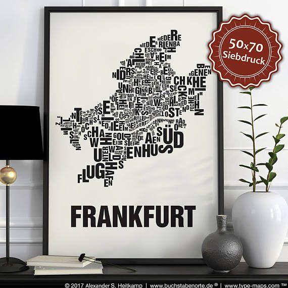 Buchstabenorte zeigen die Bezirke einer Stadt in Ihren tatsächlichen Grenzen.