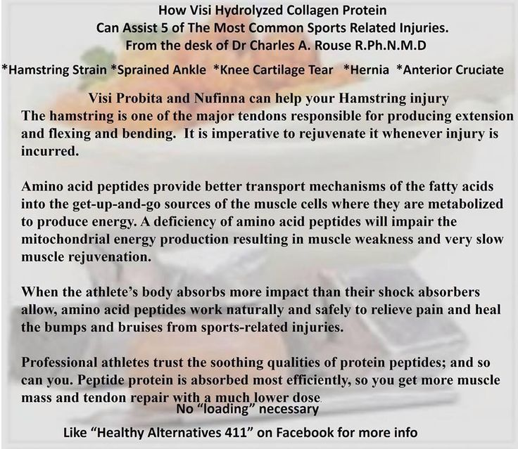 Benefits of Collagen to an athlete
