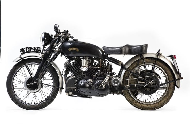 An unrestored, matching numbers, 1951 Vincent Black Shadow Series-C (Lot 564)…